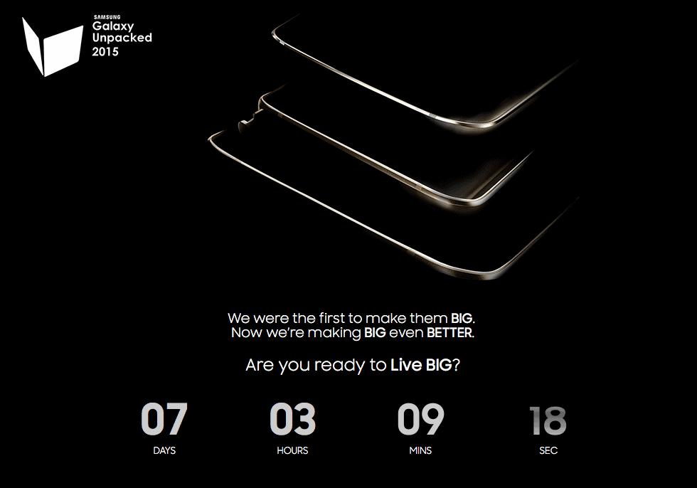Galaxy S6 Edge + tease
