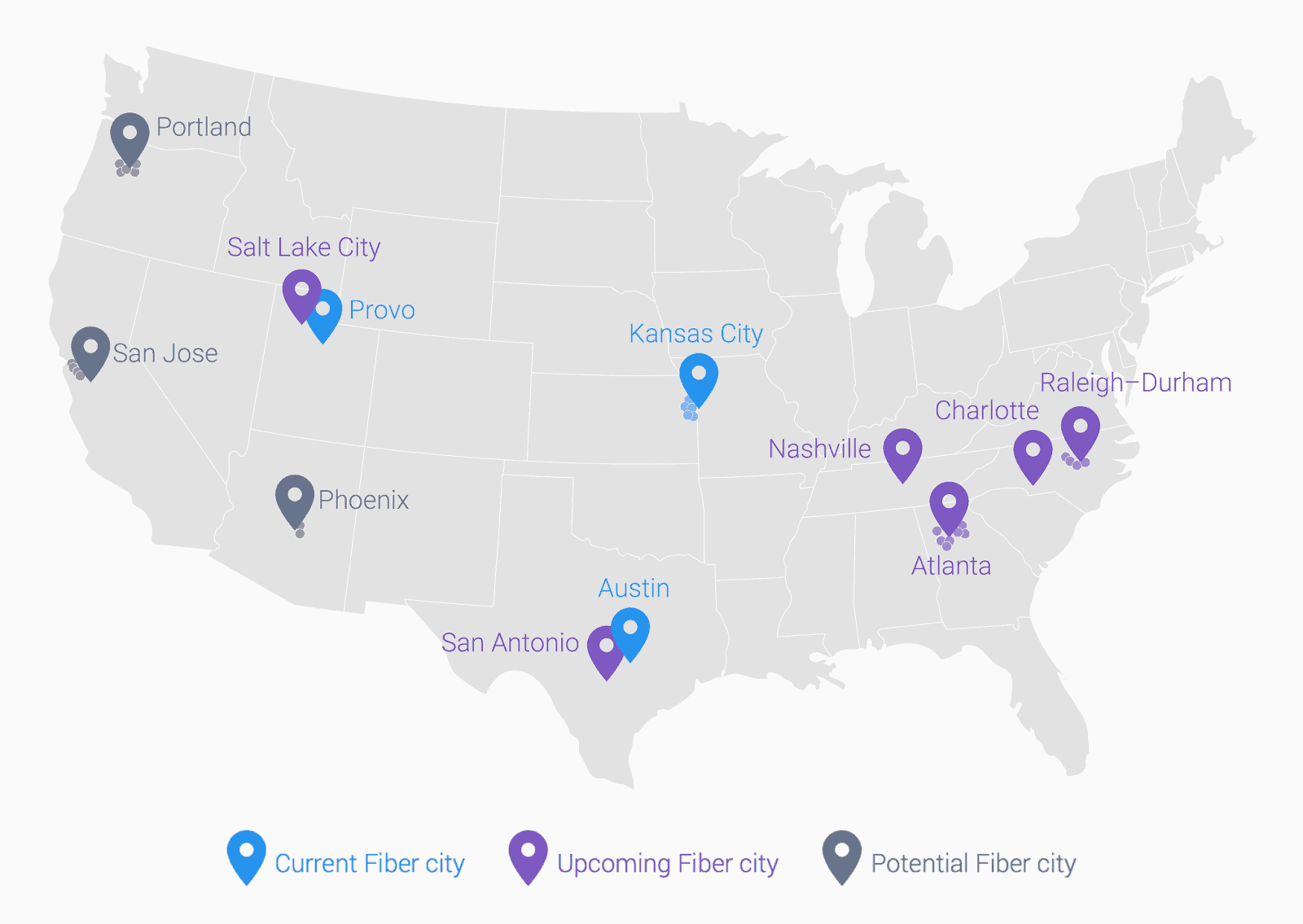 Google Fiber roadmap KK
