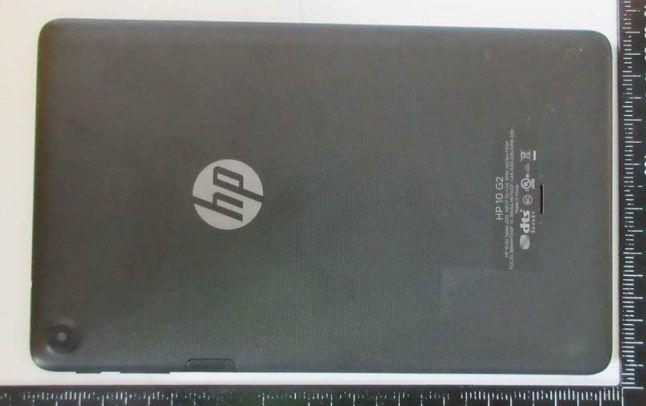 HP 10 Inch FCC