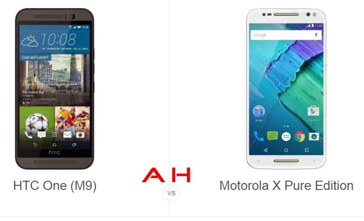 HTC One M9 vs Moto X Pure Edition cam AH