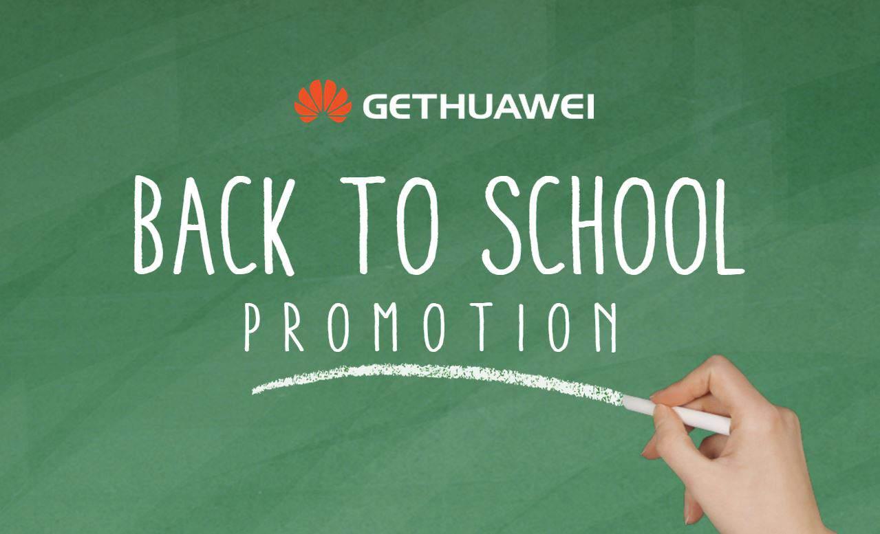 Huawei Back 2 School