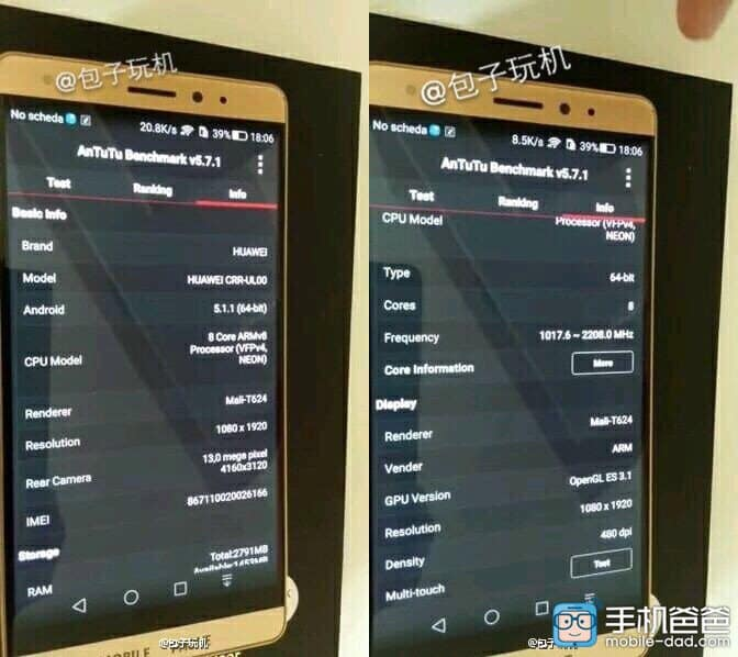 Huawei CRR-UL00 KK