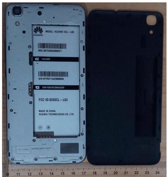 Huawei Honor 4A FCC
