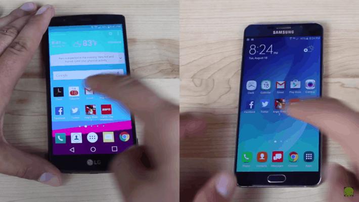 LG G4 Note 5 Speed Test