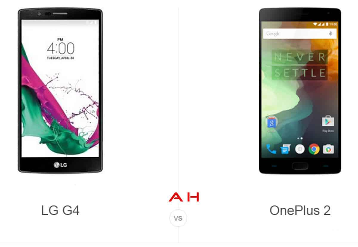 LG G4 vs OnePlus 2 cam AH
