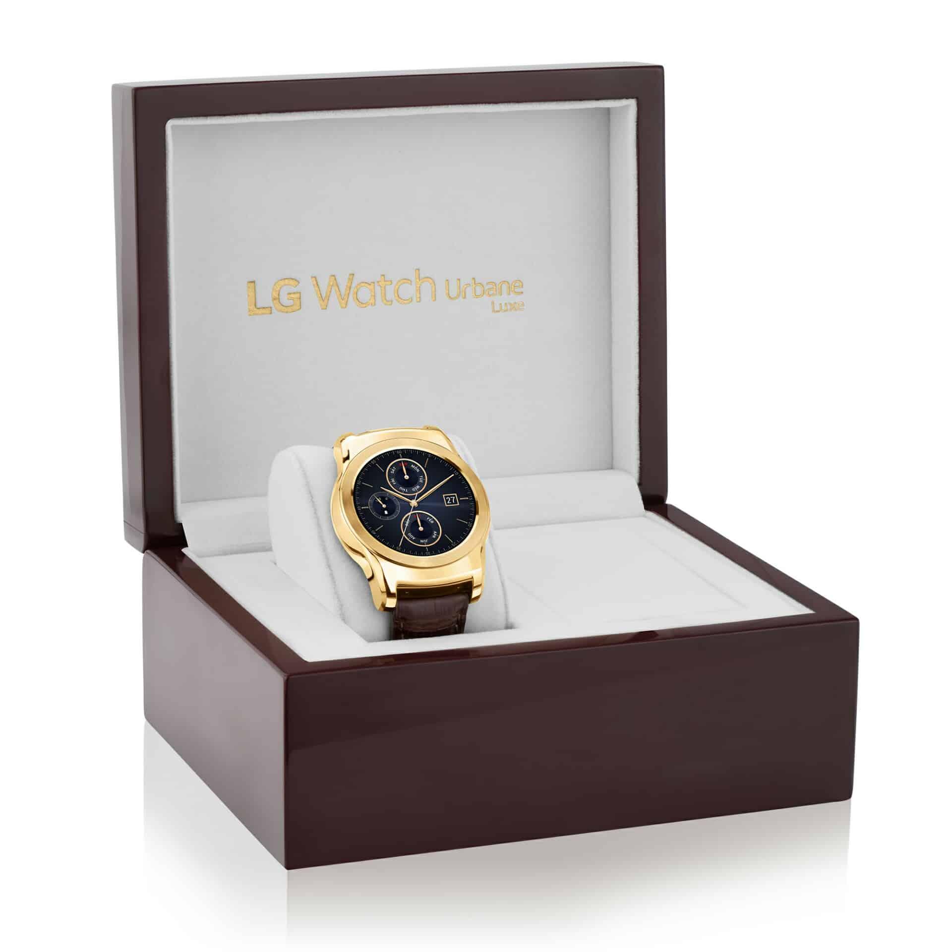 LG Watch Urbane Luxe 3