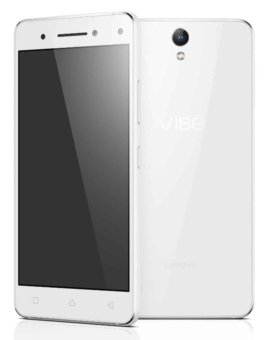 Lenovo Vibe S1 Hero White F&B