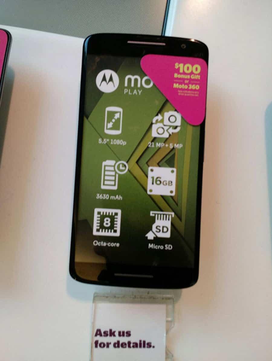 Moto X Play Moto 360 Sale