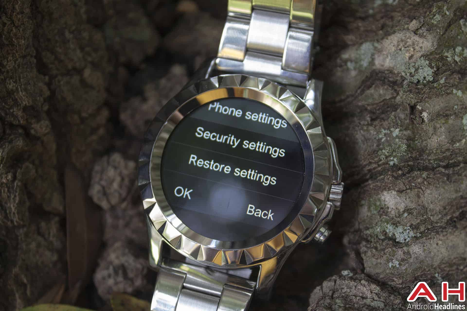 No 1 Sun S2 Smartwatch settings 1