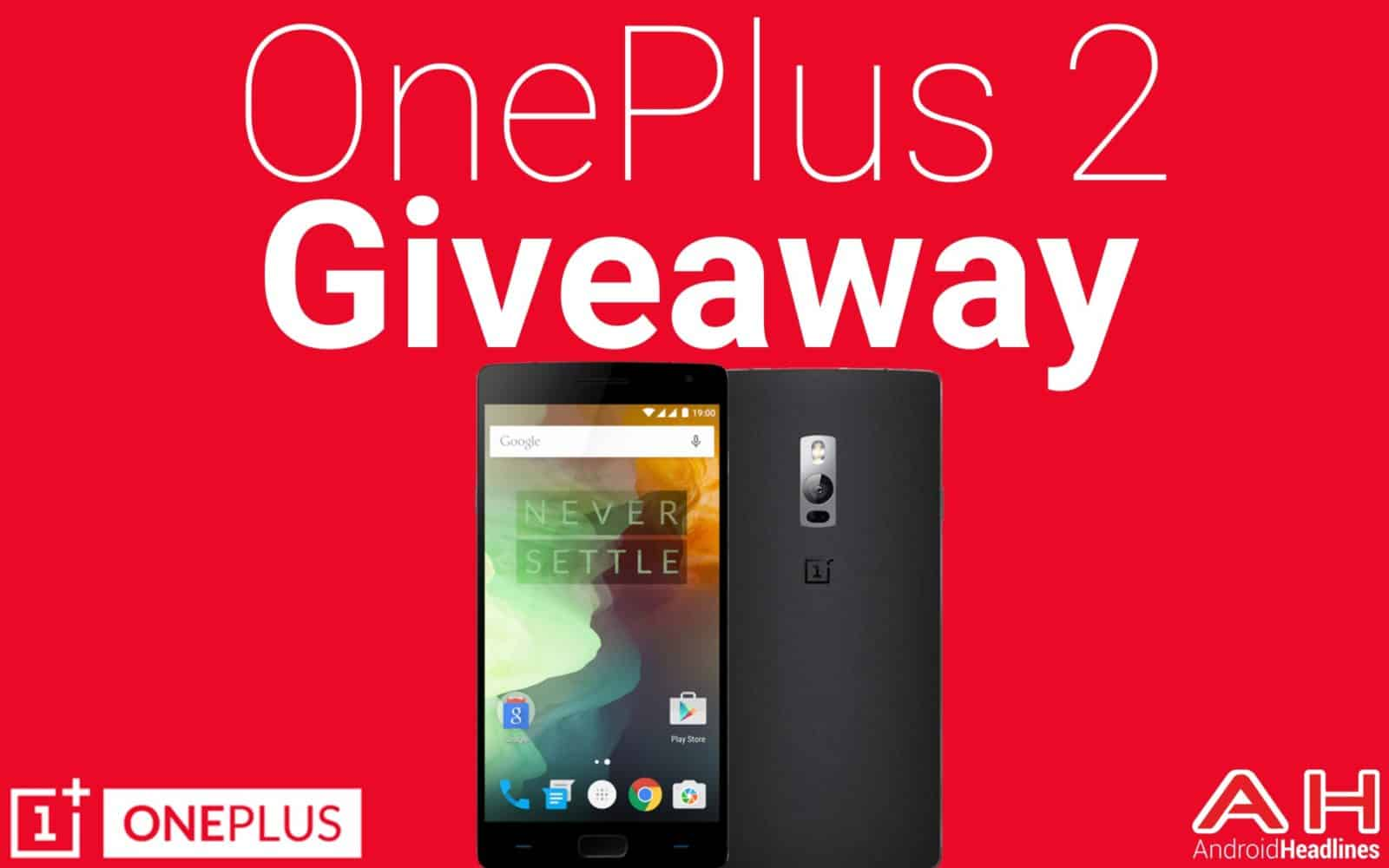 One Plus Two Giveaway Contest AH 1.0