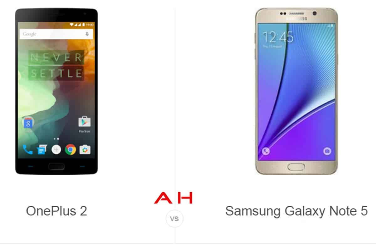 OnePlus 2 vs Note 5 cam AH