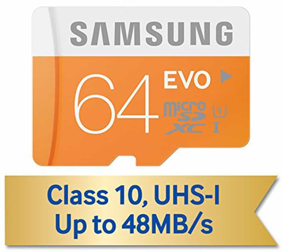 Samsung 64 microSD 3