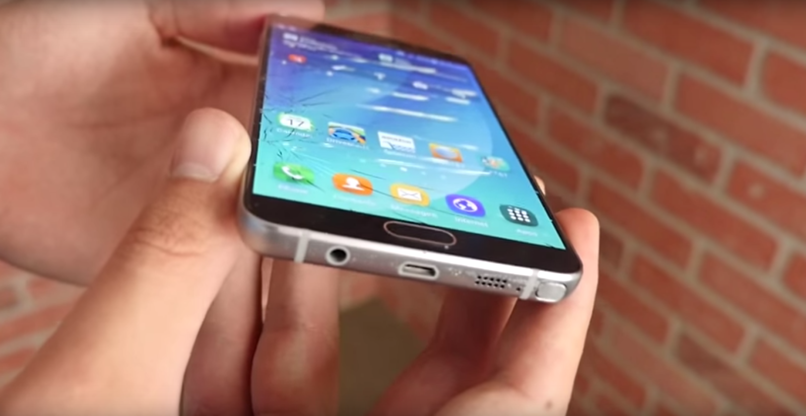 Samsung Galaxy Note 5 drop test (PhoneBuff)_1