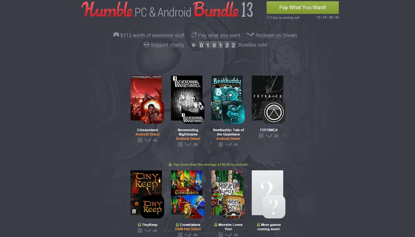 Humble PC and Android Bundle 13