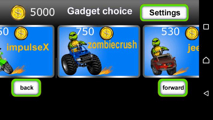 Race of Gadgets