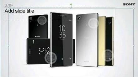 Sony Xperia Z5 Plus render