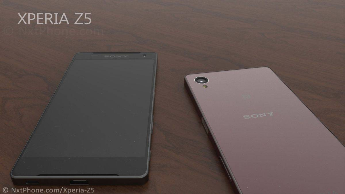 Sony Xperia Z5 concept Jermaine Smit 3
