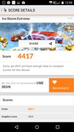 UMI Iron review benchmark 4