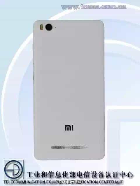Xiaomi Mi 4i TENAA 4