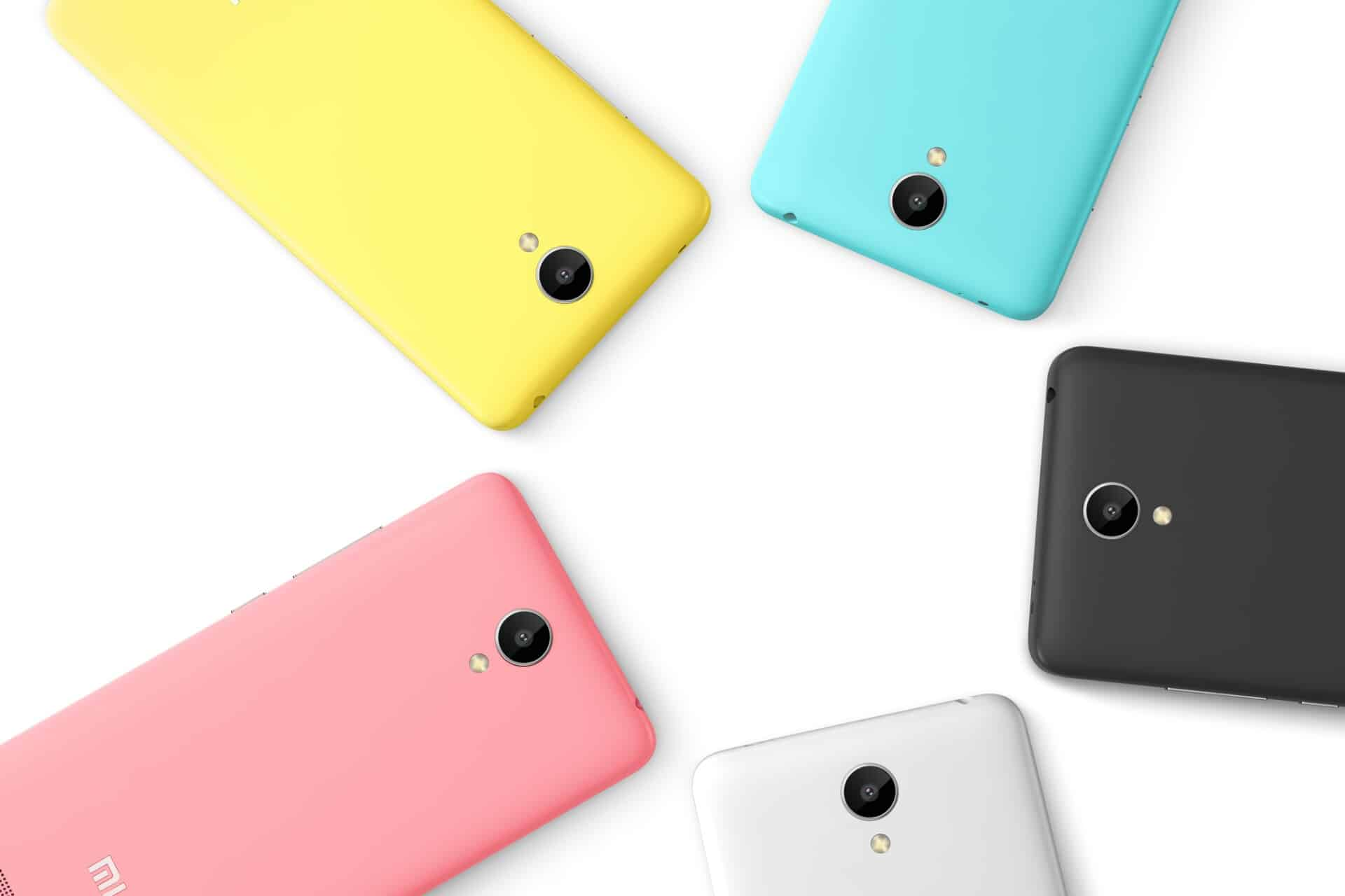 Xiaomi Redmi Note 2 Is Now Available In 5 Color Options