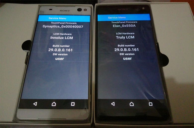Sony Using Different Display Panels On Xperia C5 Ultra