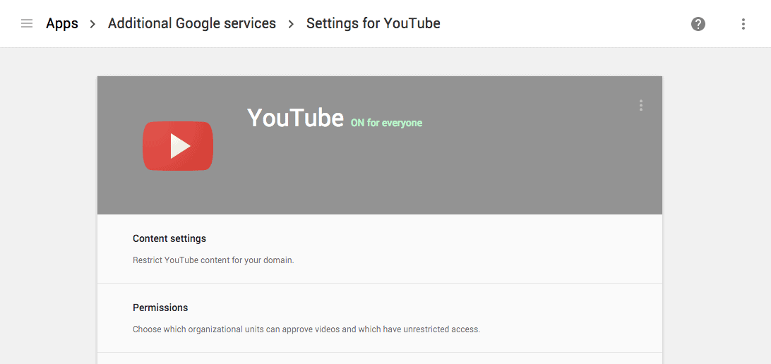 YouTube Restrict