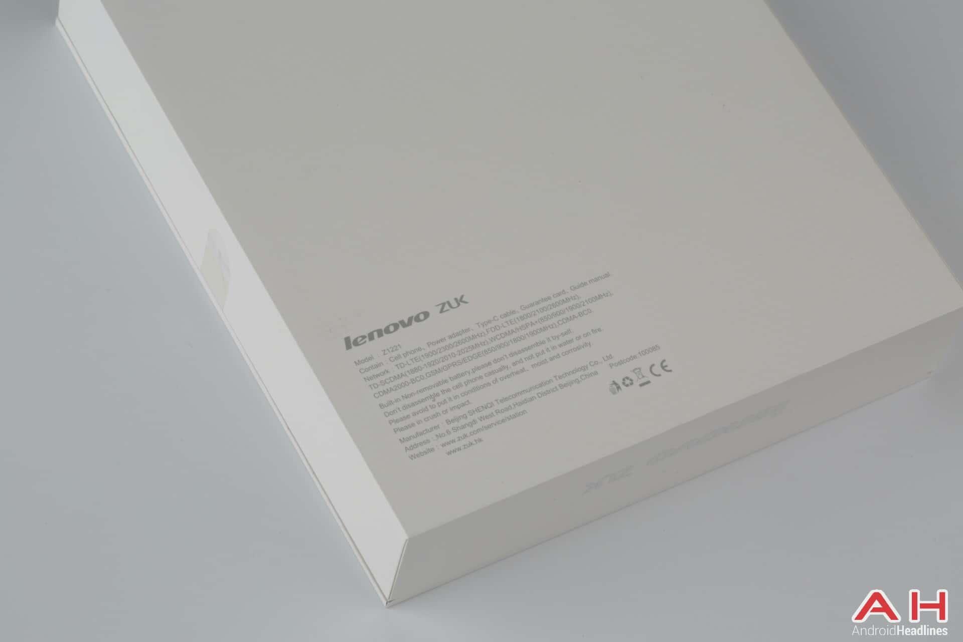ZUK Z1 international version 4