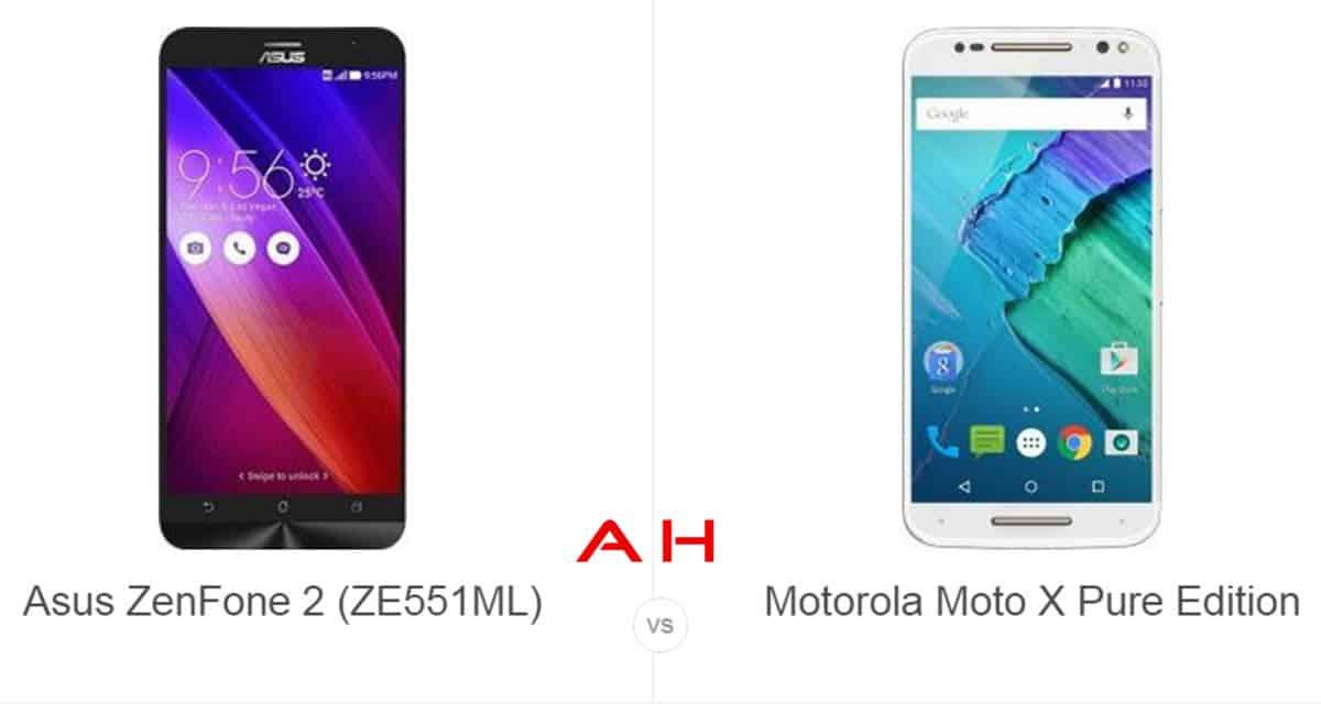 Zenfone 2 vs Moto X Pure Edition cam AH