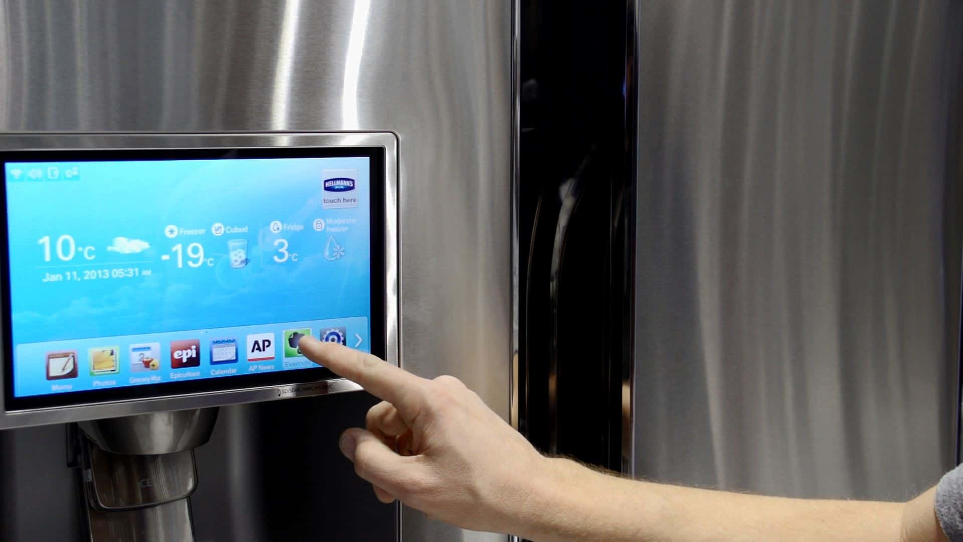 Your Samsung Smart Fridge Could Be Targeted By Hackers