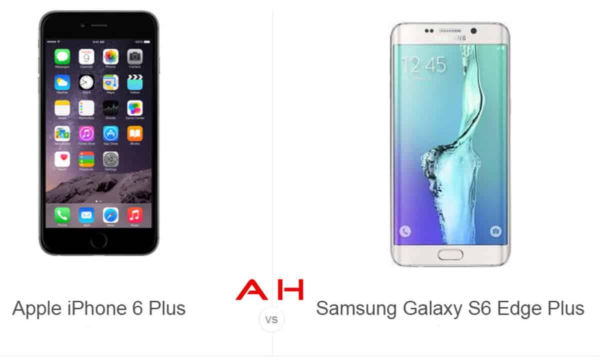 Phone Comparisons: Apple iPhone 6 Plus vs Samsung Galaxy S6 Edge+
