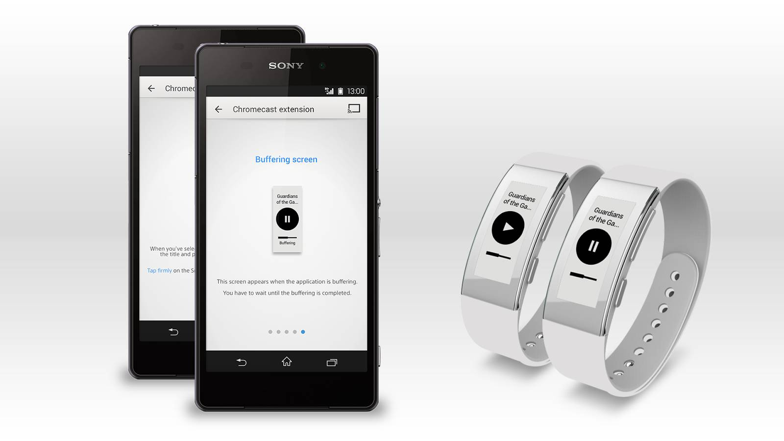 Chromecast for Smartband Talk