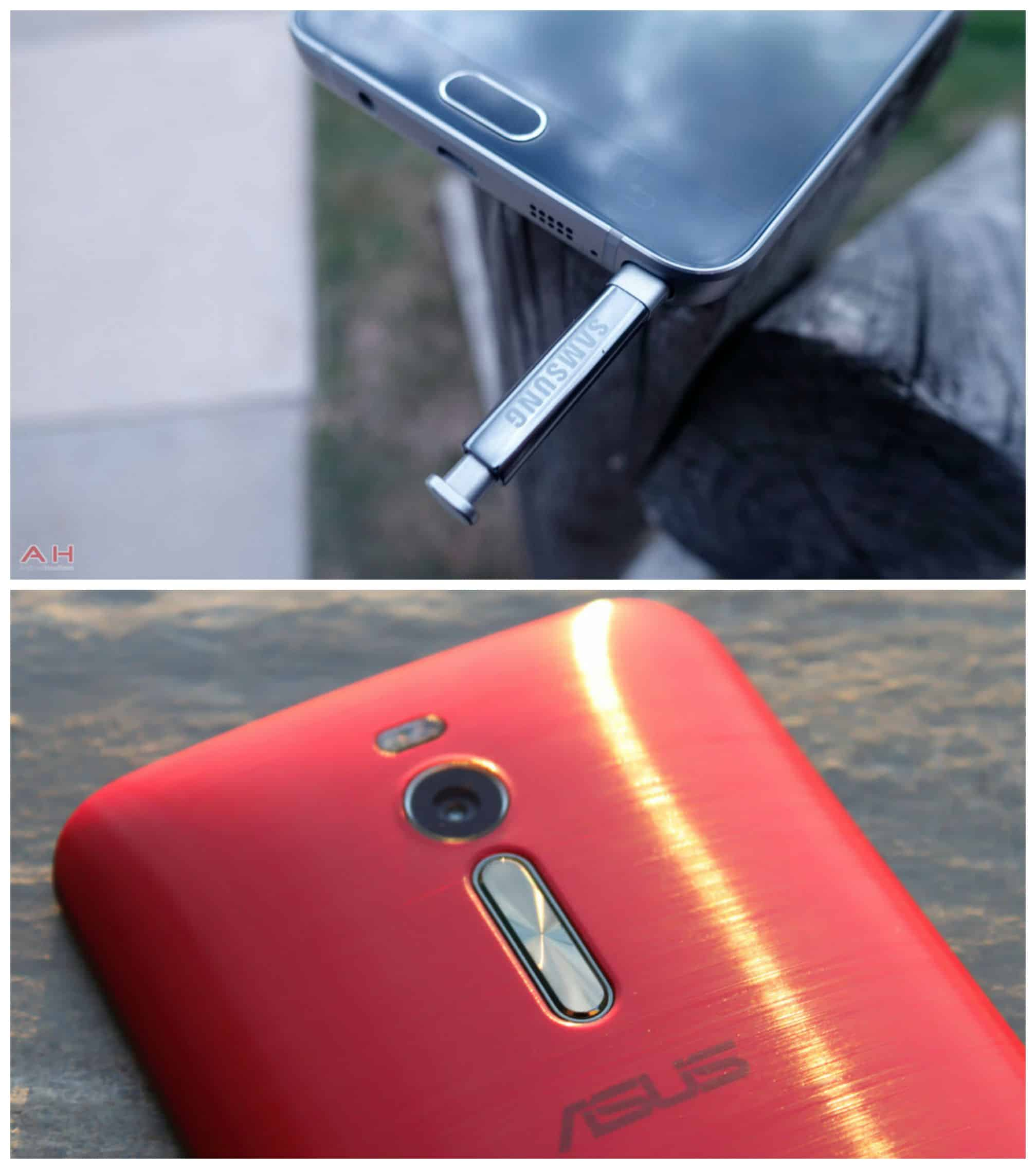 ASUS ZenFone 2 and Note 5