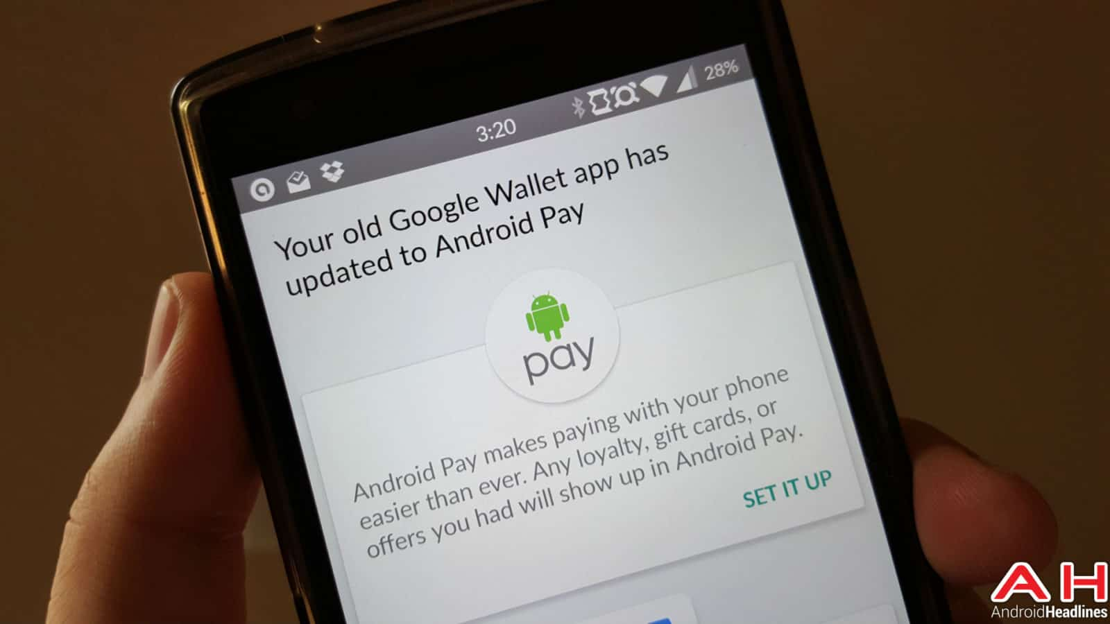 Android Pay AH