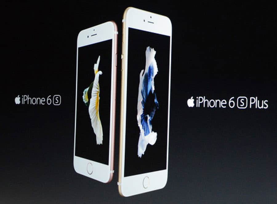 Apple iPhone 6s and 6s Plus with name