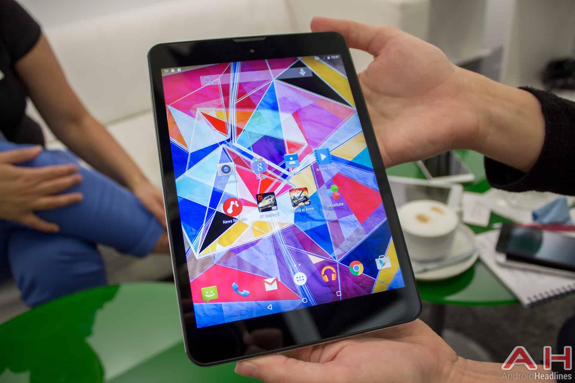 Archos Diamond Tablet IFA AH 8