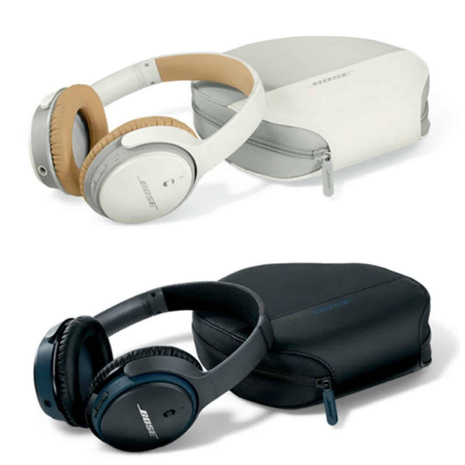 Bose Soundlink Headphones II Collage