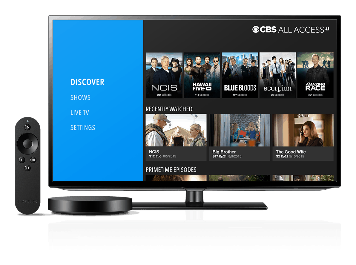 CBS All Access Android TV