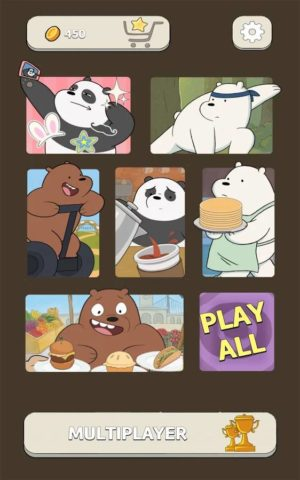 Free Fur All - We Bare Bears