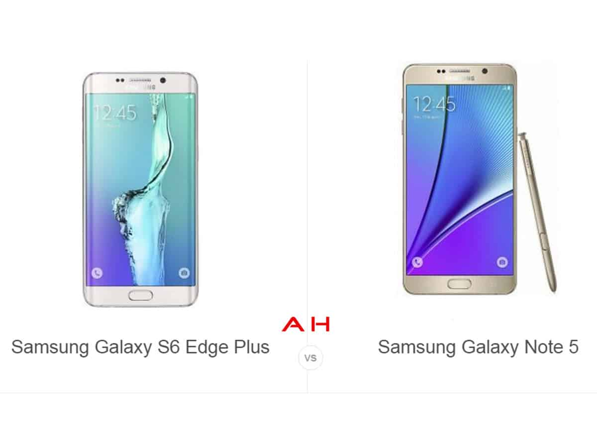 Phone Comparisons Samsung Galaxy S6 Edge Plus Vs