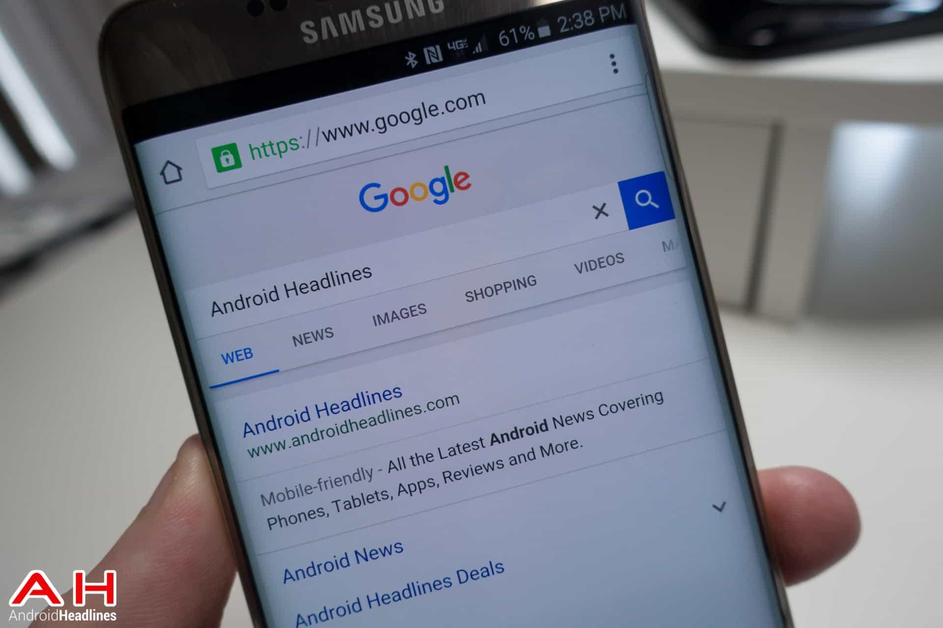 Google Search AH 1