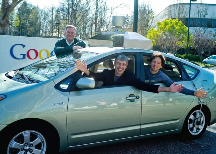 Google self driving car Schmidt Page Brin 01