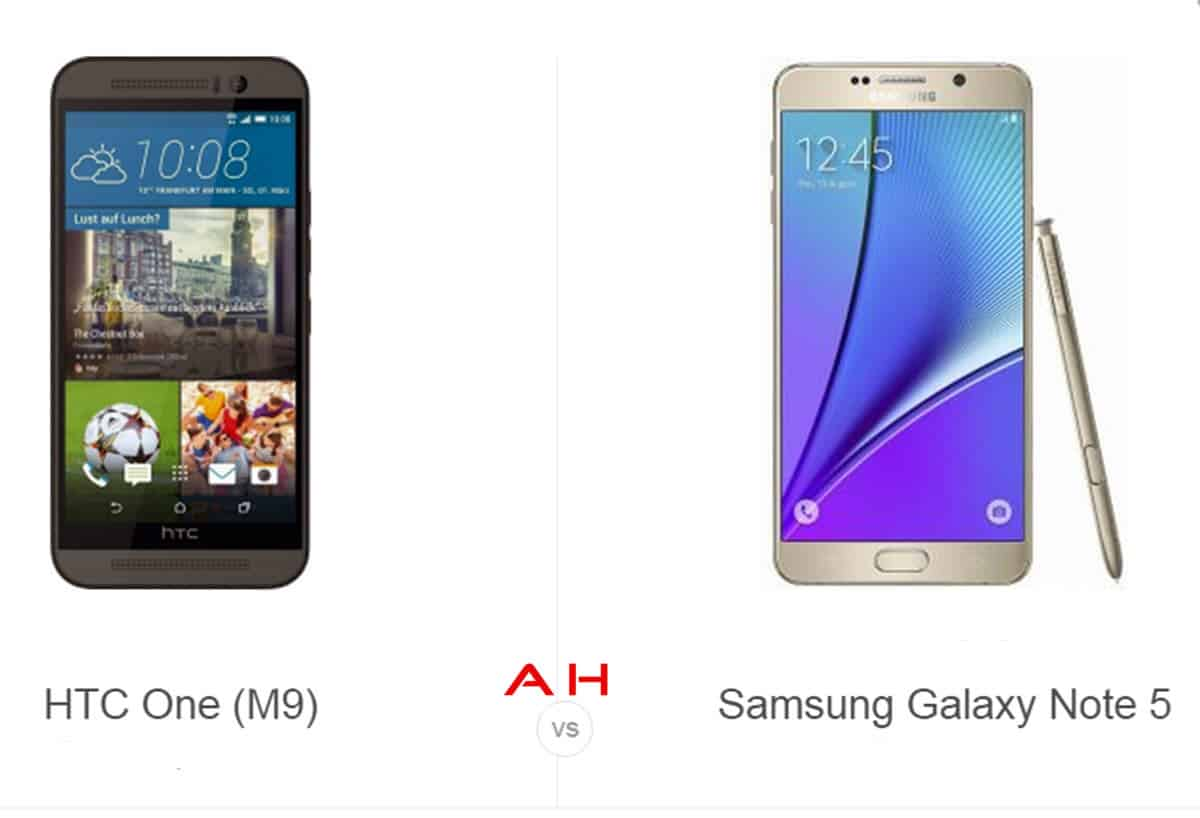 Samsung galaxy note 5 vs htc one m9 plus a comparison - Phone Comparisons Htc One M9 Vs Samsung Galaxy Note 5 Androidheadlines Com
