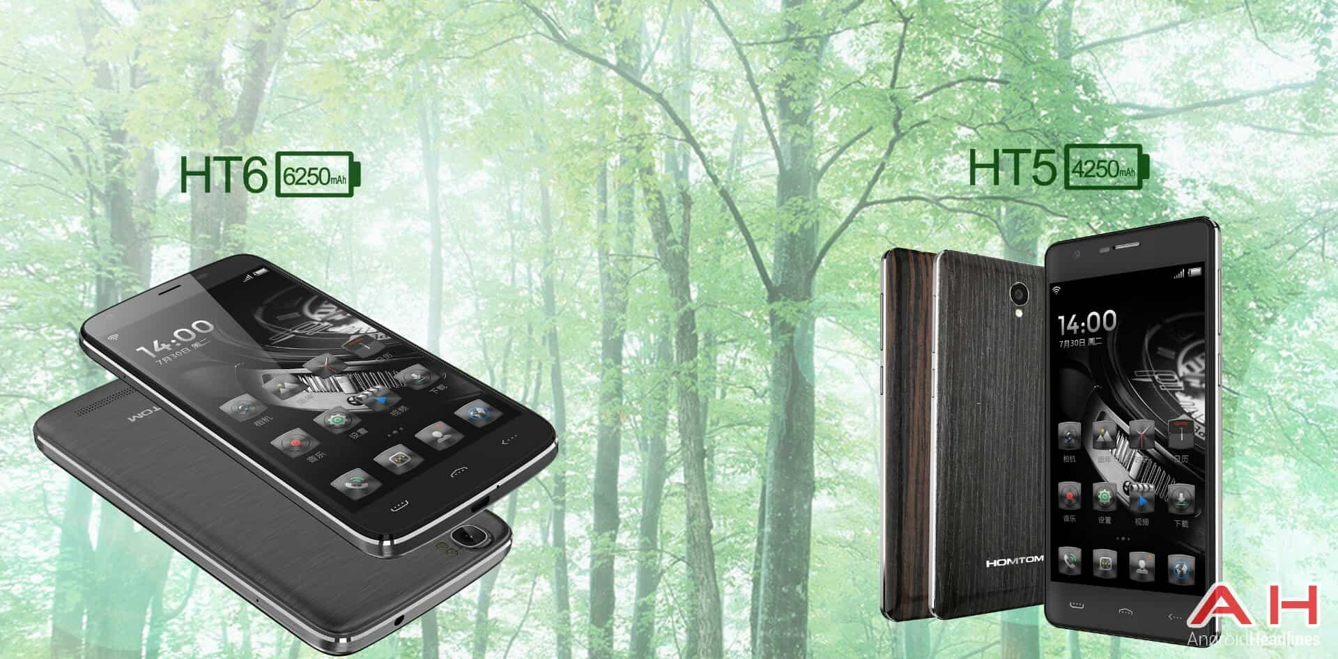 Homtom HT6 and HT5 1
