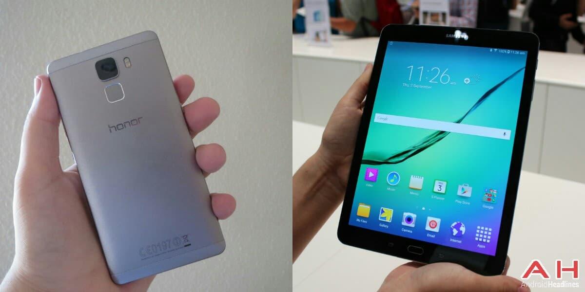Honor 7 and Galaxy Tab S2 AH_1