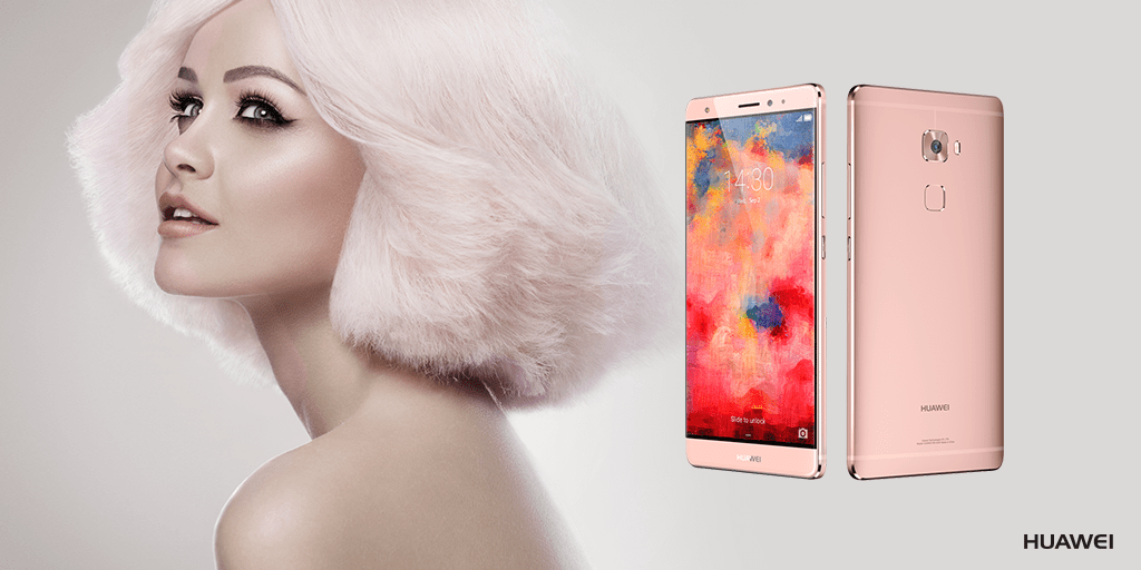 Huawei Mate S in Rose Gold Twitter