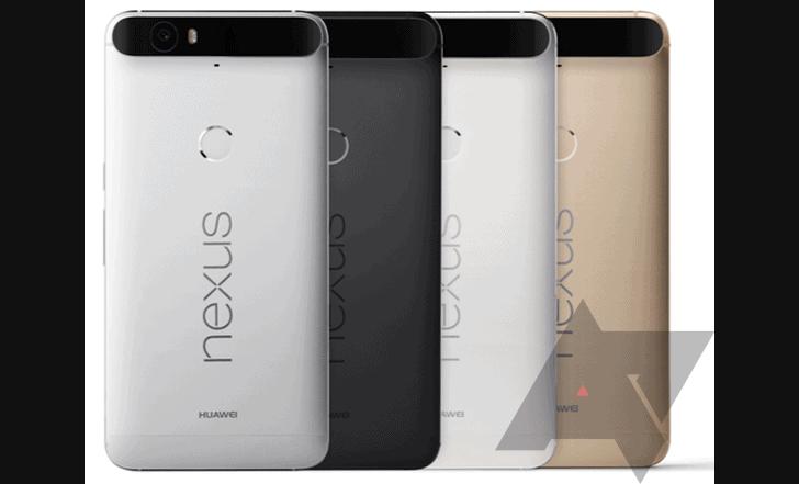 Huawei Nexus 6P AP Leak Colors