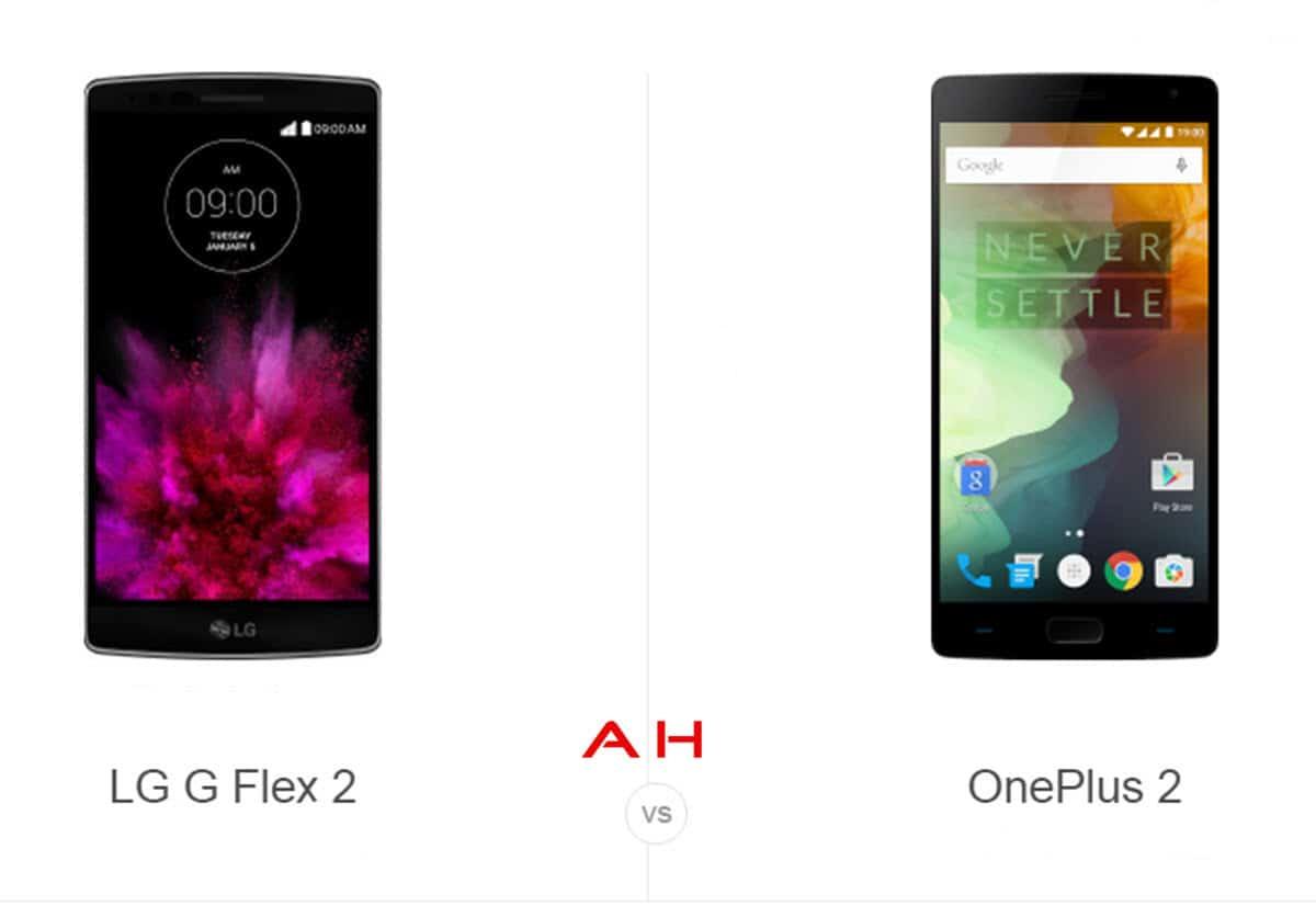 LG G Flex 2 vs OnePlus 2 cam AH
