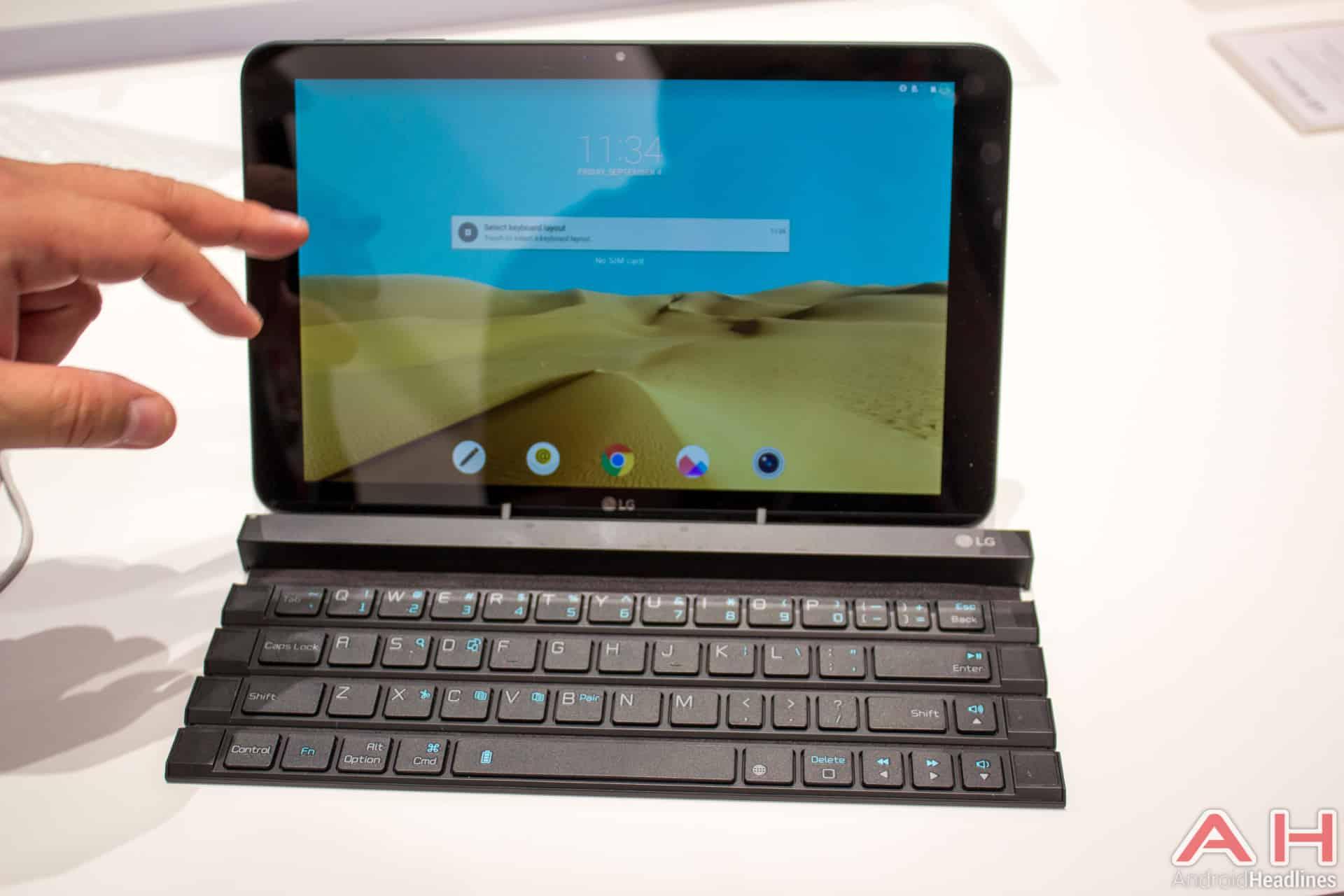 LG Rolly Keyboard AH 4