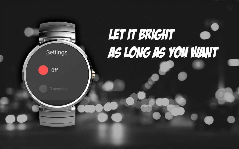Lightr - Longer Backlight