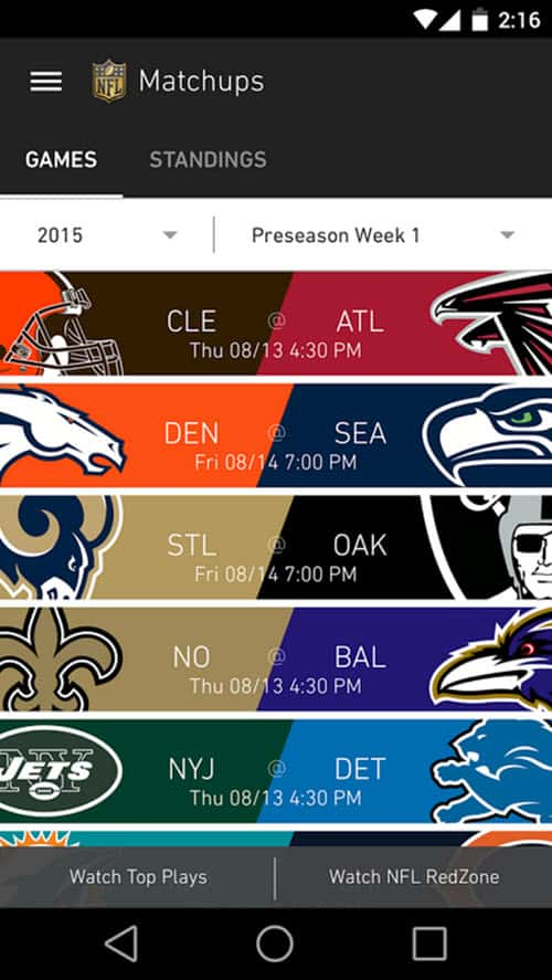 NFL App 2